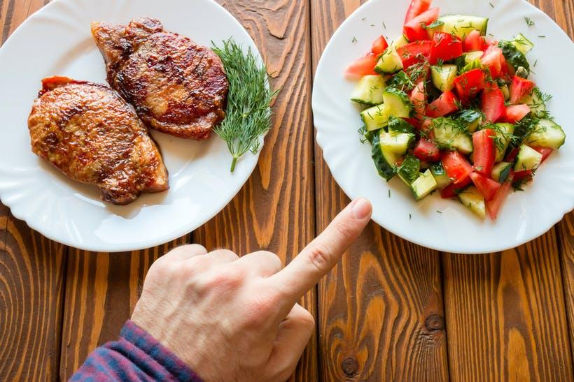 تأثیر رژیم غذایی گیاه خواری