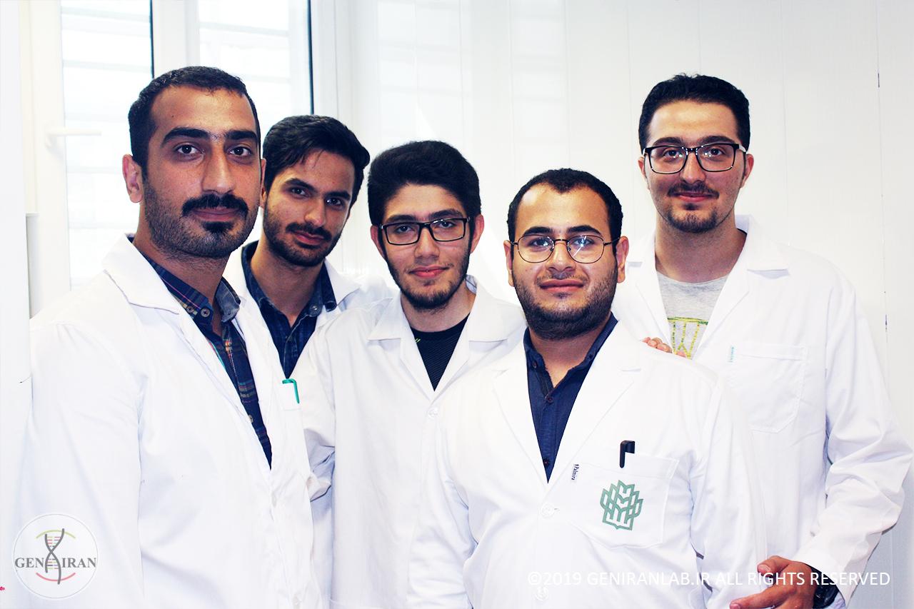 کارآموزان مهندسی ژنتیک و کلونینگ