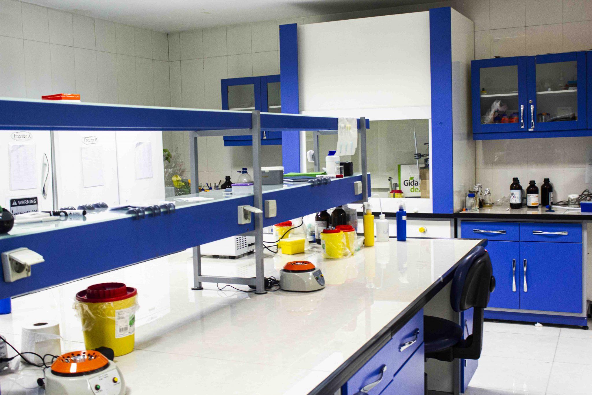 آزمایشگاه ژنتیک مولکولی